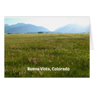 Buena Vista, CO Card