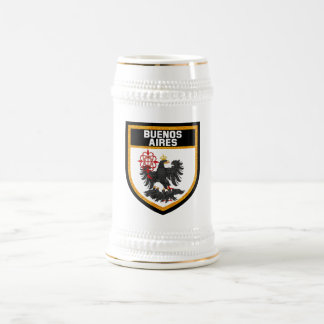 Buenos Aires Flag Beer Stein