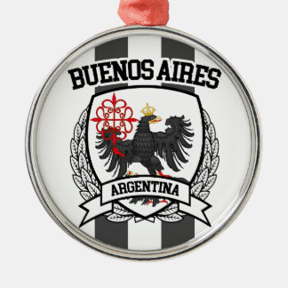 Buenos Aires Metal Ornament