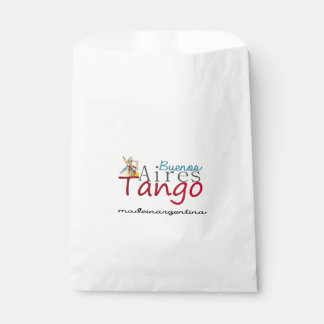 Buenos Aires Tango Made in Argentina Favour Bag