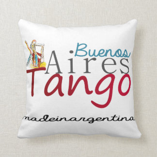Buenos Aires Tango Made in Argentina Throw Pillow