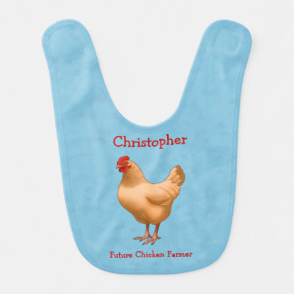 Buff Orpington Hen Future Chicken Farmer Bib