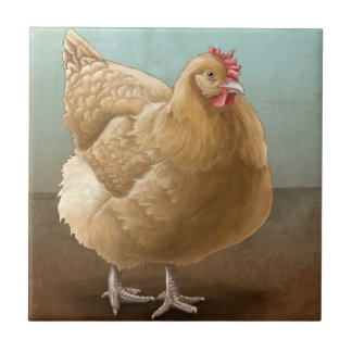 Buff Orpington Tile