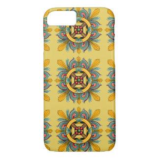 Buff Victorian Tile Design iPhone 8/7 Case