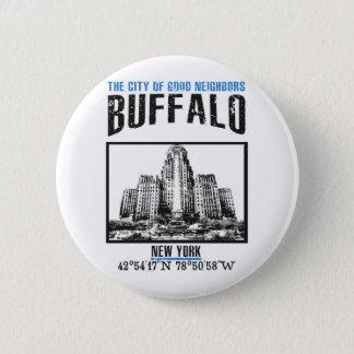 Buffalo 2 Inch Round Button