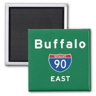Buffalo 90 square magnet