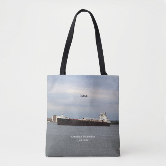 Buffalo all over tote bag