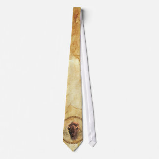 Buffalo and Leather Men's Tie