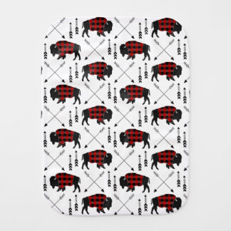Buffalo Arrows Burp Cloth