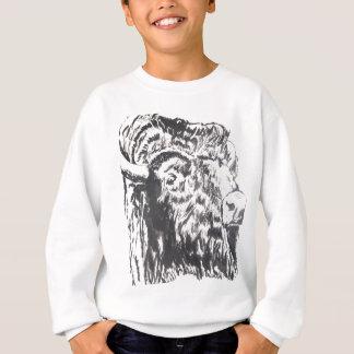 buffalo_B&W.jpg Sweatshirt