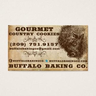 Buffalo Baking Business Cards