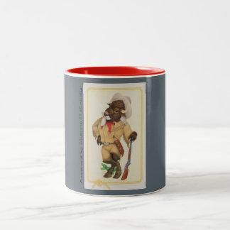 Buffalo Bill 11oz two-toned coffee mug