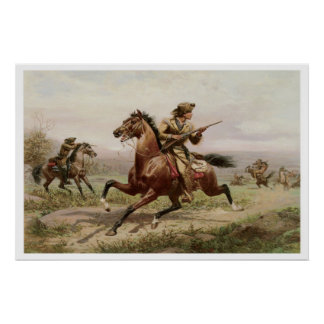 Buffalo Bill 1885 Vintage Art Print Poster