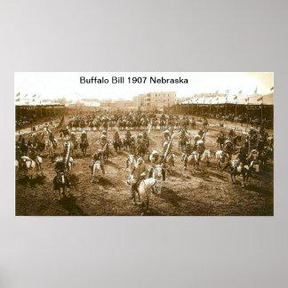 Buffalo Bill 1907  Print