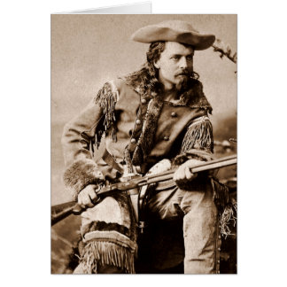 Buffalo Bill Cody - Circa 1880 Card
