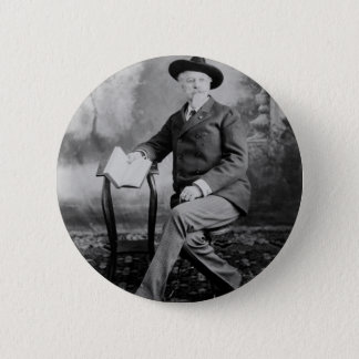 Buffalo Bill Cody Wild West Show 2 Inch Round Button