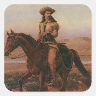 Buffalo Bill Square Sticker