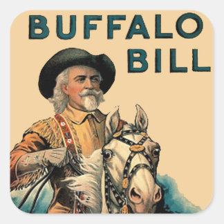 Buffalo Bill Stickers