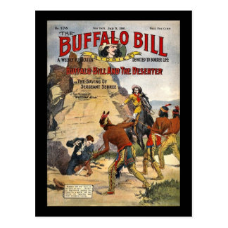 Buffalo Bill Stories 1910 Postcard