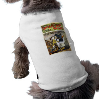 Buffalo Bill Weekly 1917 Devoted to Far West Life Dog T-shirt