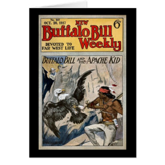 Buffalo Bill Weekly 1917 - The Apache Kid Card