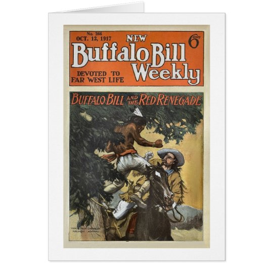 Buffalo Bill Weekly 3 - vintage Card