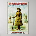 Buffalo Bill's Wild West Poster Annie Oakley
