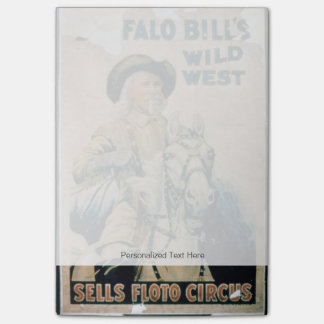 'Buffalo Bill's Wild West', Sells Floto Circus (co Post-it Notes