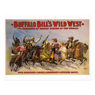 Buffalo Bills Wild West Show Postcard