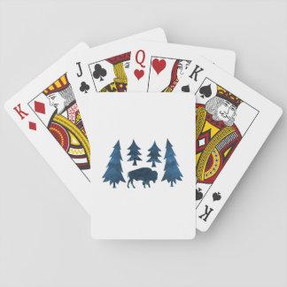 Buffalo / Bison Playing Cards