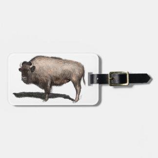 Buffalo, Bubalus Bag Tag