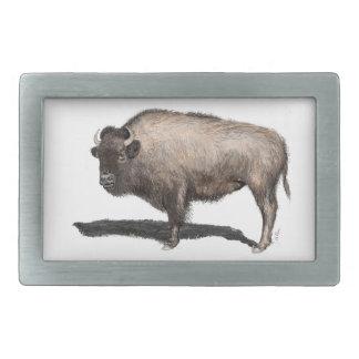 Buffalo, Bubalus Belt Buckle