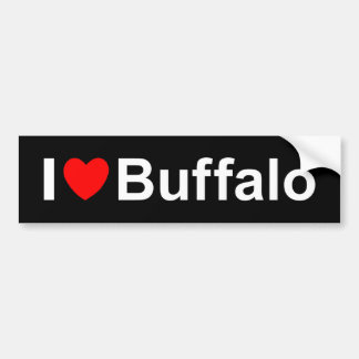 Buffalo Bumper Sticker