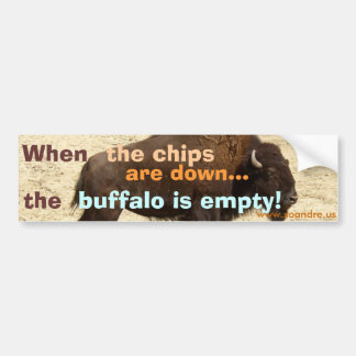 Buffalo Bumper Sticker