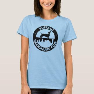 Buffalo Dachshund Club Ladies Baby Doll Tshirt