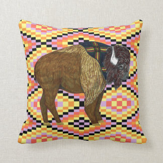 Buffalo Diamonds Pillow