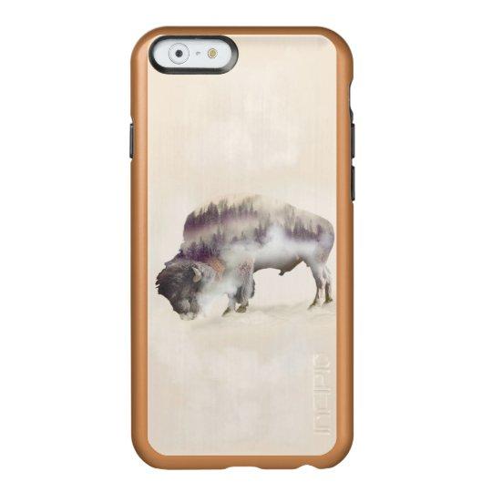Buffalo-double exposure-american buffalo-landscape incipio feather® shine iPhone 6 case