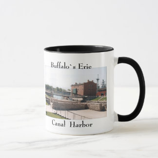 Buffalo Erie Canal Harbor mug