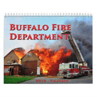 Buffalo Fire 2015 Calendar