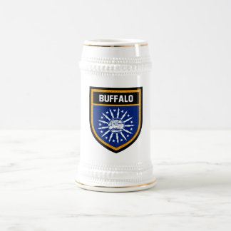 Buffalo Flag Beer Stein