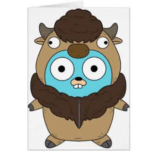 Buffalo Gopher Card