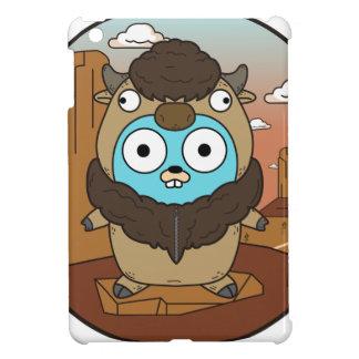 Buffalo Gopher in Desert Cover For The iPad Mini