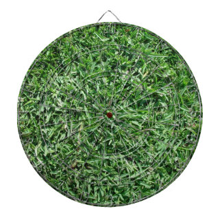 Buffalo grass dart boards