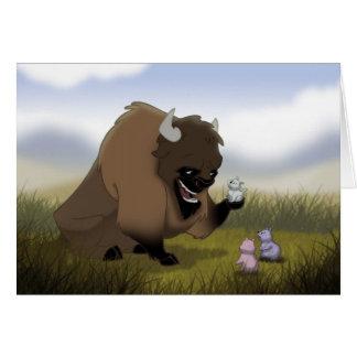 Buffalo Greeting Card
