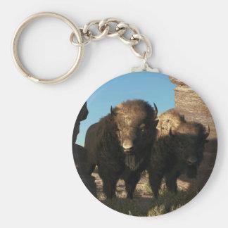 Buffalo Guard Keychain