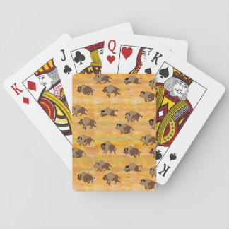 Buffalo Herd Playing Cards