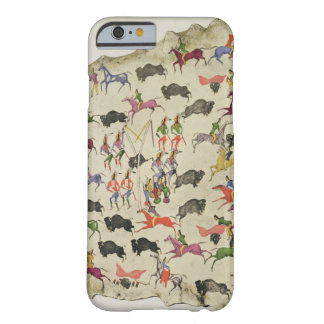 Buffalo hunt (pigment on elk-skin) barely there iPhone 6 case