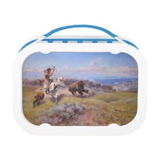 Buffalo Hunter Lunch Box