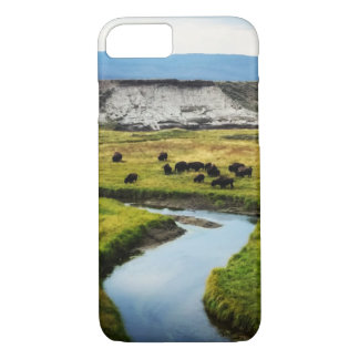 Buffalo in the Valley iPhone 8/7 Case