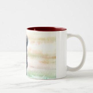 Buffalo in  wyoming, on a mug